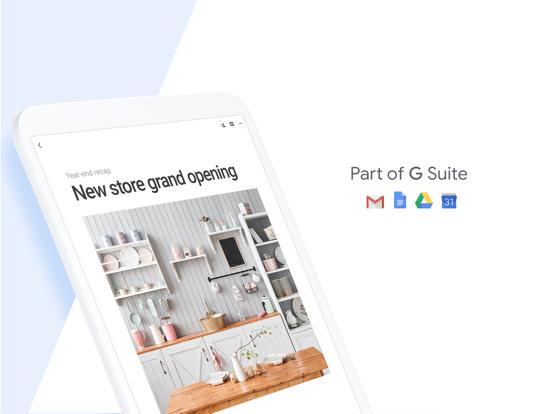 iPad Image of Google Docs: Sync, Edit, Share