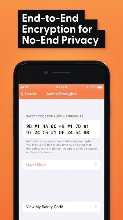 Confide - Private messenger screenshot-3
