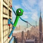 Spider Stickman Warriors Hero