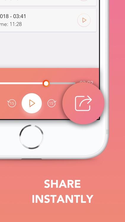 Call Recorder - Save & Listen screenshot-3