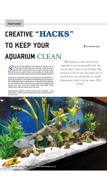 The Fishkeeper Magazine screenshot-3