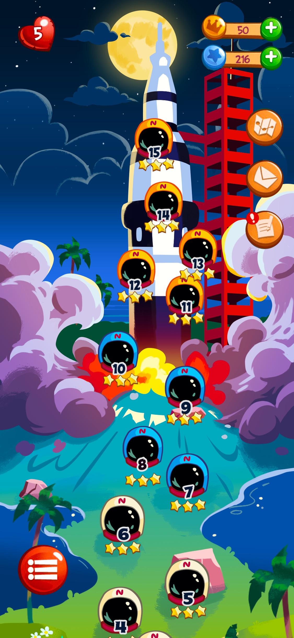 Screenshot do app Angry Birds Blast