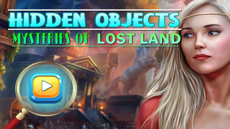 Lost Land Hidden Object Game
