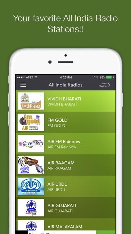 All India Radios-AIR Stations screenshot-4