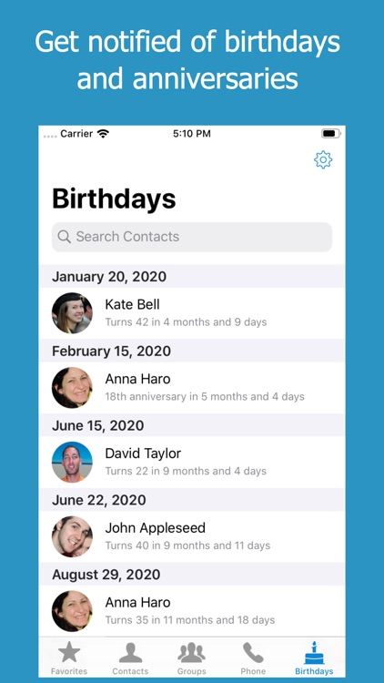 ContactsXL + Favorites Widget screenshot-4