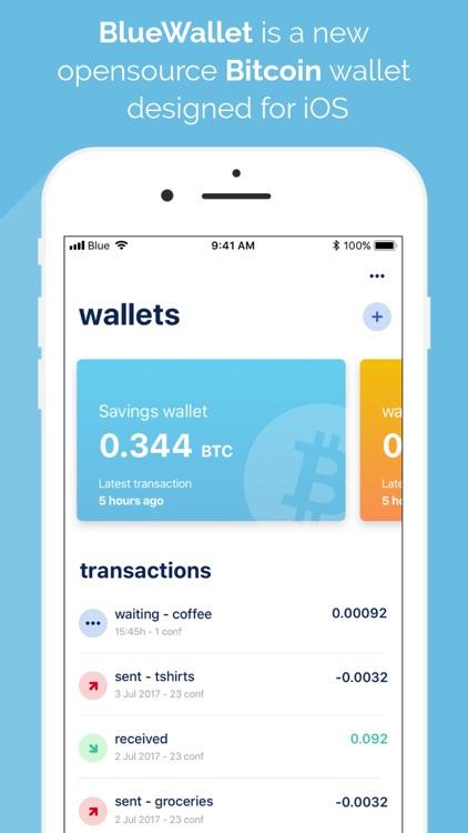 BlueWallet - Bitcoin wallet screenshot-0