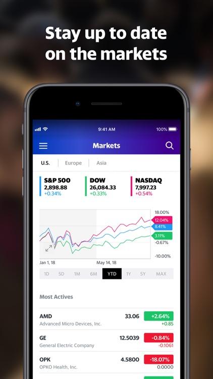 Yahoo Finance screenshot-5