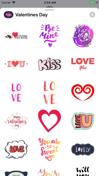 Valentines Day 2019 Stickers screenshot-1