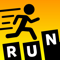 App Icon for Type Run App in Belgium IOS App Store