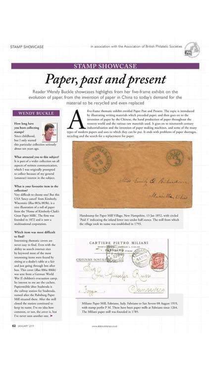 Stamp Collector Magazine screenshot-4