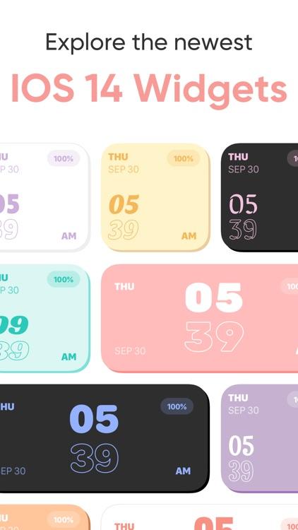 Font & Color Widgets screenshot-0