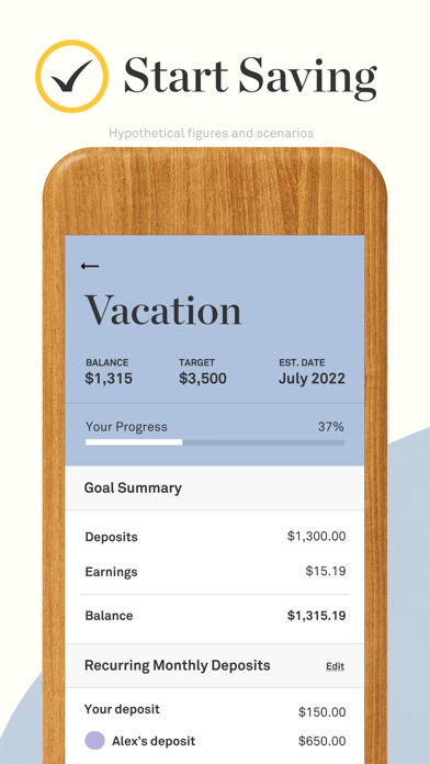 Screenshot for Twine: Easy Saving & Investing in United States App Store
