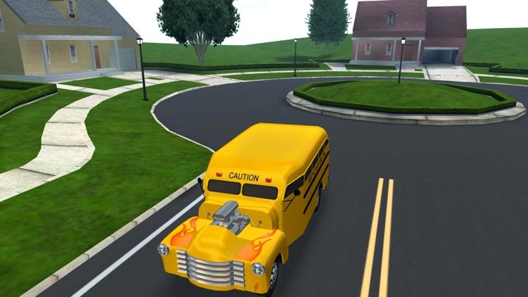 School Bus Simulator Game 3D screenshot-6