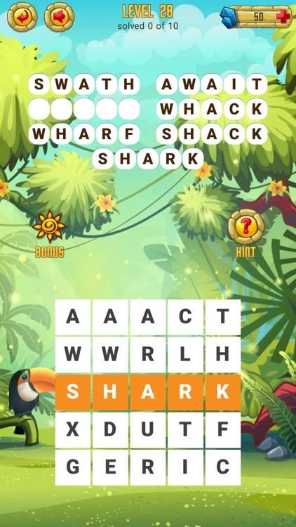 Word Treasure Puzzle screenshot-3