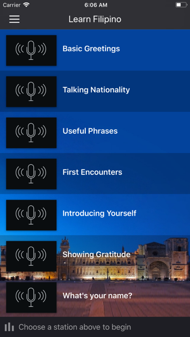 Fast - Learn Filipino Language screenshot one
