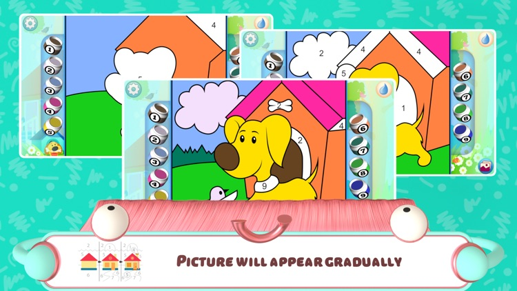 Color by Numbers - Dogs screenshot-4