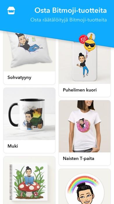 Screenshot for Bitmoji in Finland App Store