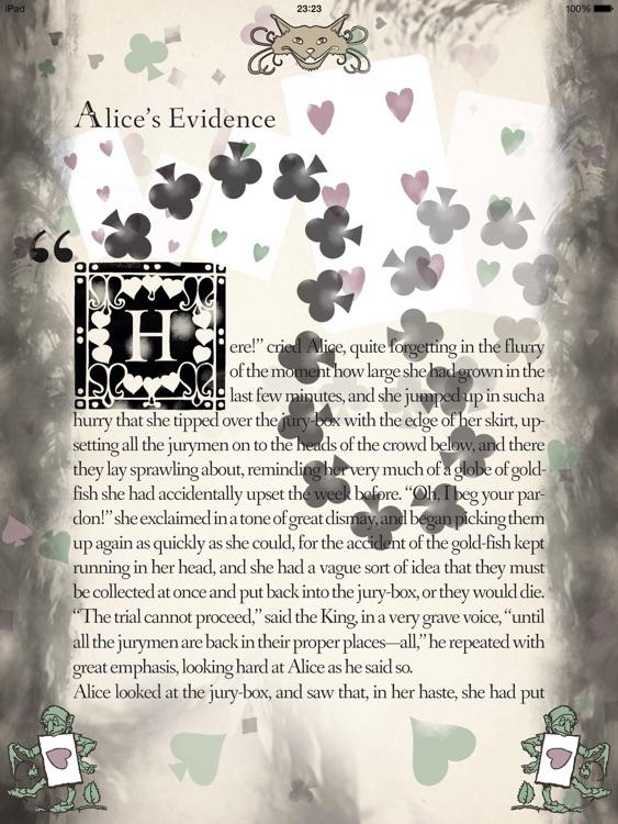 Alice in Wonderland, Arthur Rackham screenshot-4