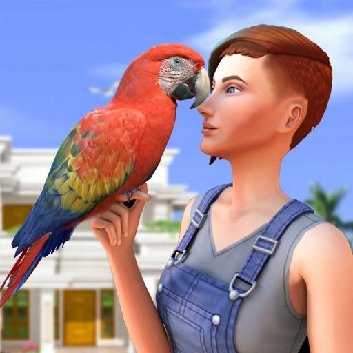 Home Parrot Sim Pet World Game