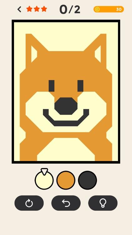 ERASE - coloring puzzle game screenshot-5