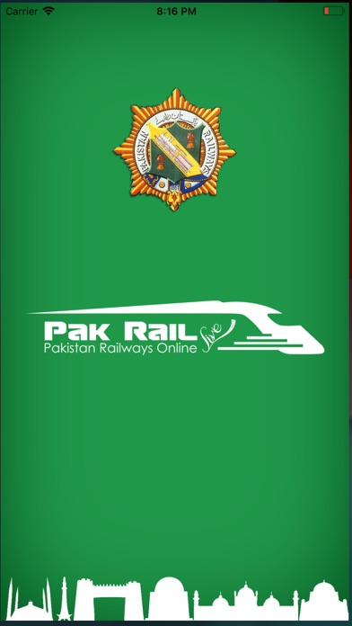 Screenshot for Pak Rail Live in Philippines App Store