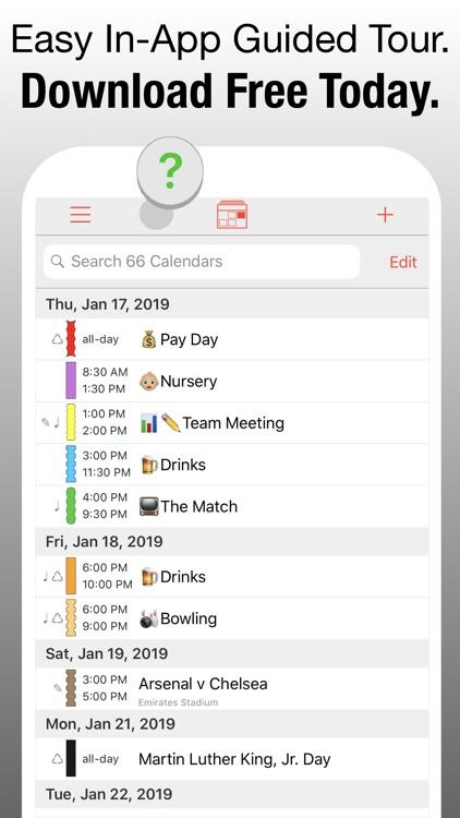 PocketLife Calendar screenshot-8