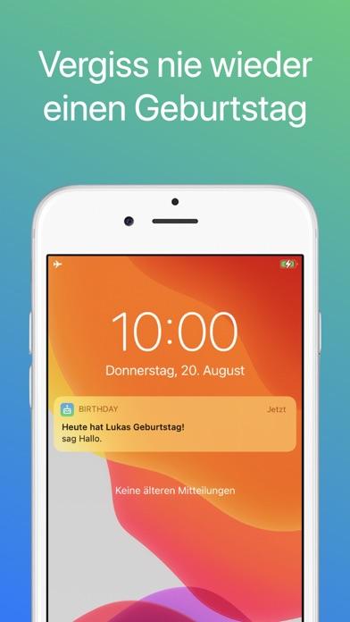 Geburtstags AppScreenshot von 5