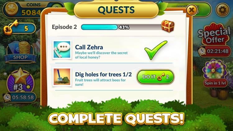 Solitales: Gardening Solitaire screenshot-4