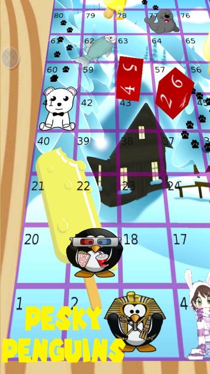 Pesky Penguins Board Game
