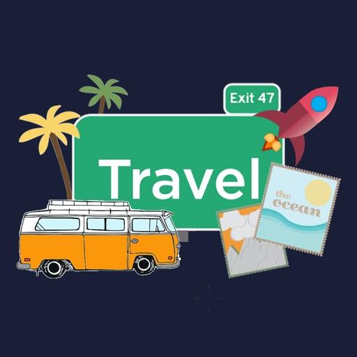 MNSU Travel Stickers