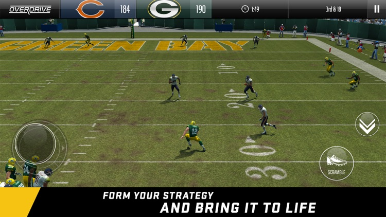 Madden NFL Overdrive Football screenshot-3