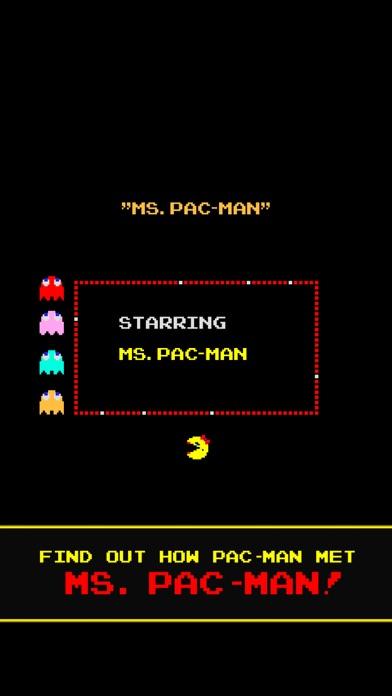 Screenshot from Ms. PAC-MAN Lite