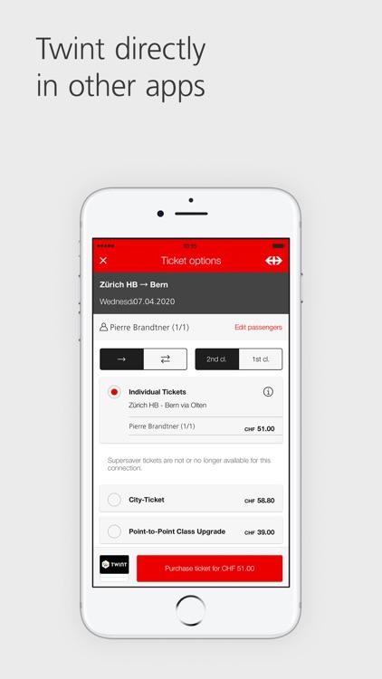 UBS TWINT: Swiss Payment App screenshot-8