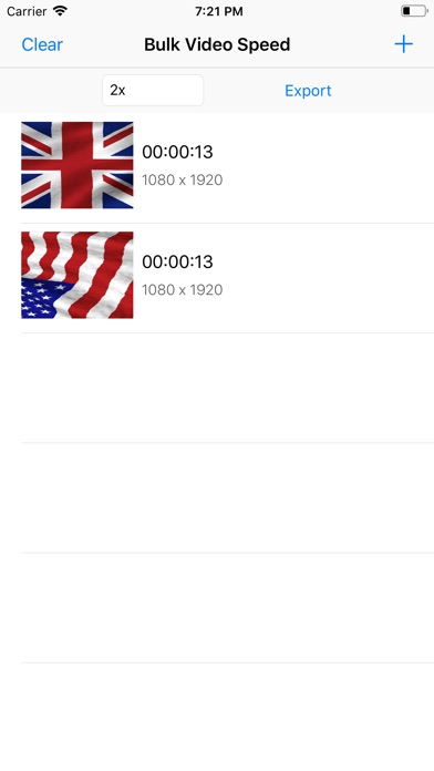 Bulk Video Speed screenshot 1