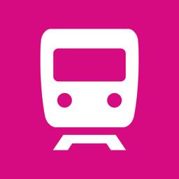 Ícone do app City Rail Map - Travel Offline