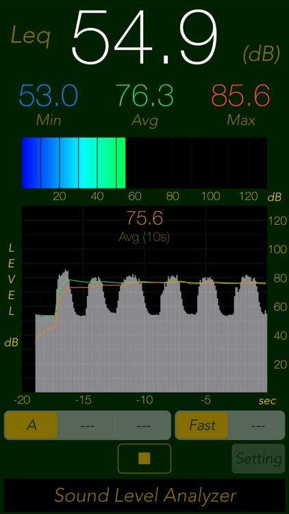 Sound Level Analyzer Lite screenshot-0