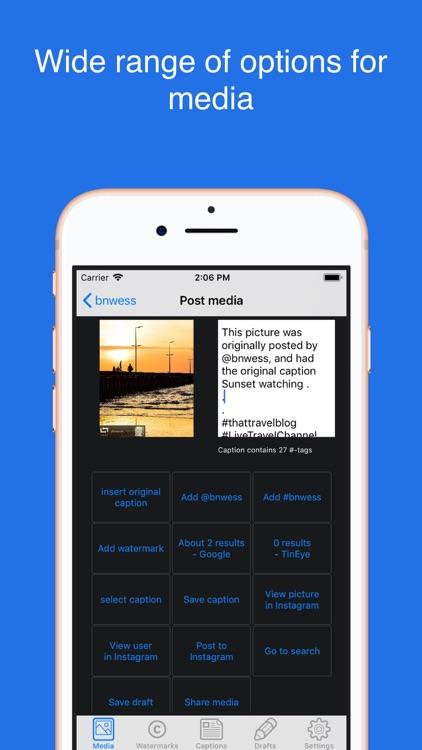 Picstagrab - Repost & Regram screenshot-3