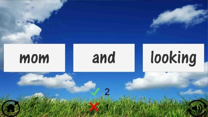 Screenshot for Kindergarten Sight Word Quiz in China App Store