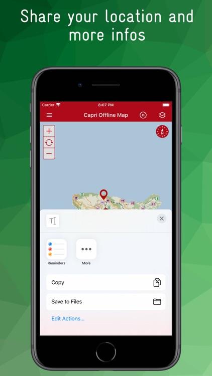 Capri Offline Map screenshot-9