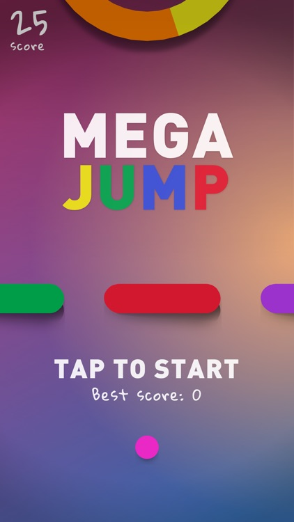 Mega Jump Jump Color Game by Lidwien Veugen