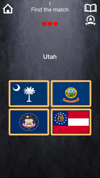 USA Quiz with ads screenshot three