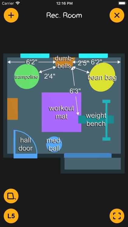 K.I.S.S. Room Layout