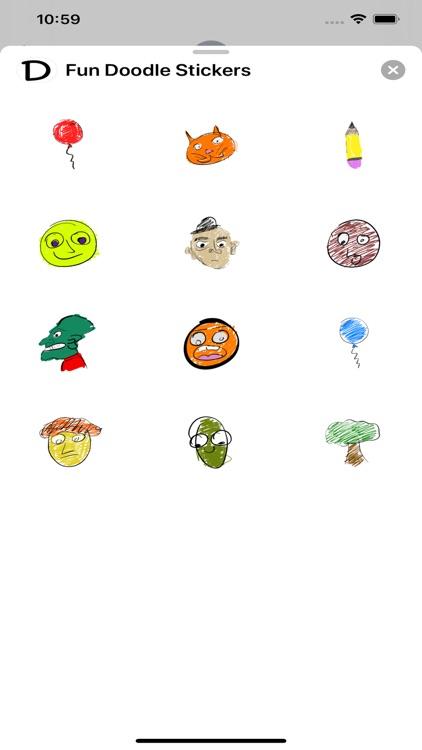 Fun Doodle Stickers