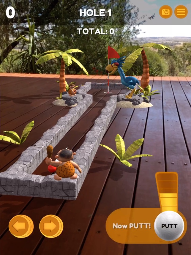 Mammoth Mini Golf AR Screenshot