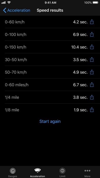 Speedometer∞ screenshot-3