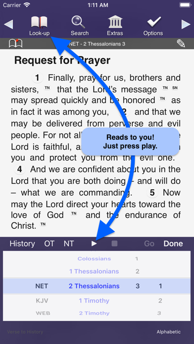 Touch Bible Loaded: Study App screenshot two