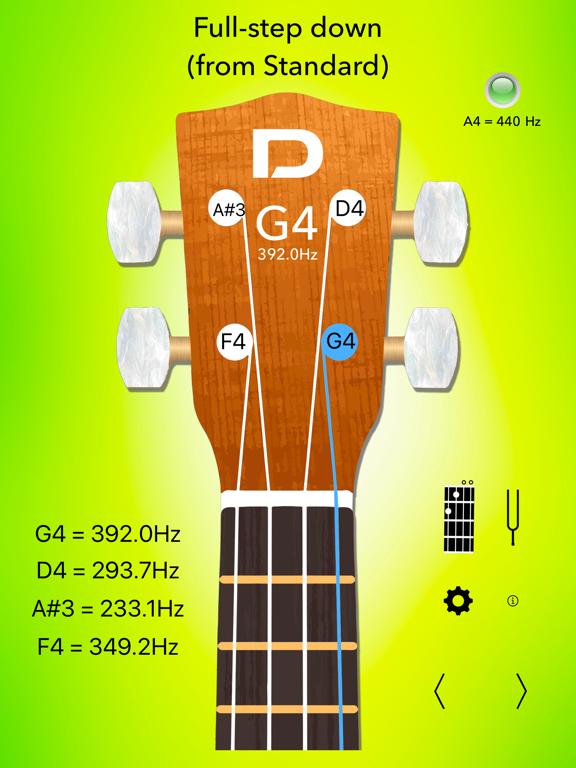 Ukulele Tuner Pro and Chords Screenshots