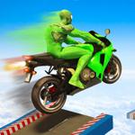 Super héros de moto cascades pour pc