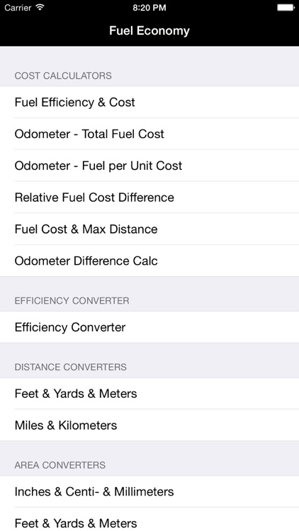 Fuel Calculator: MPG, L100k screenshot-4