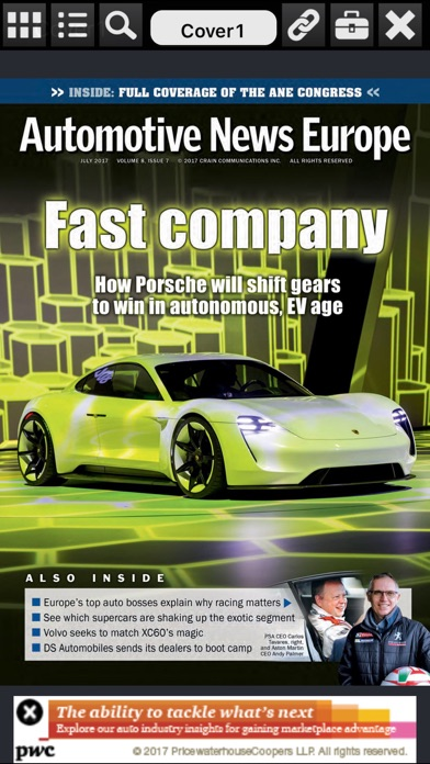 点击获取Automotive News Europe